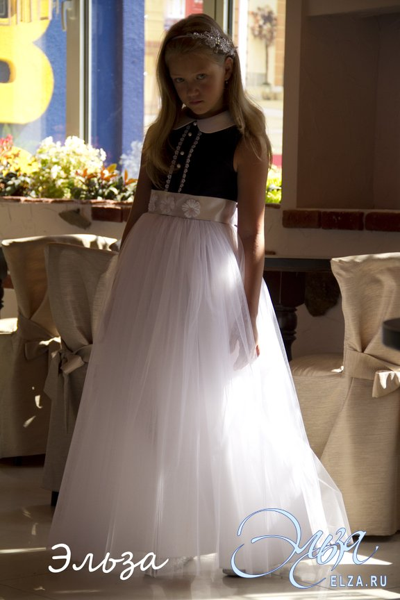 Купить Платье Детское Эльза