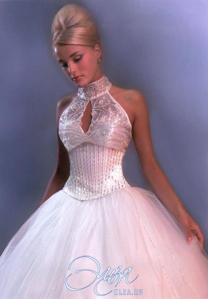 Платья свадебные американка