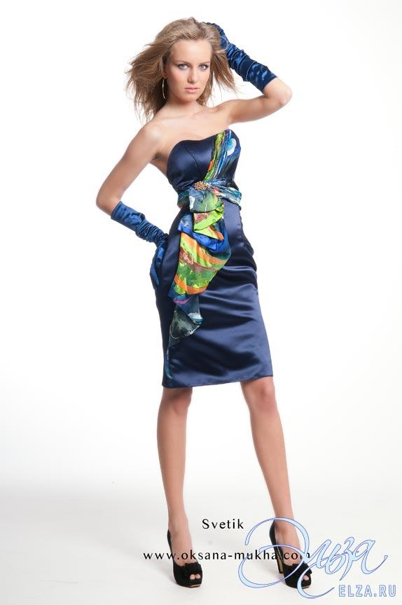 aa40e4d22de5aea Вечернее платье Светик, Оксана Муха, свадебный салон Эльза