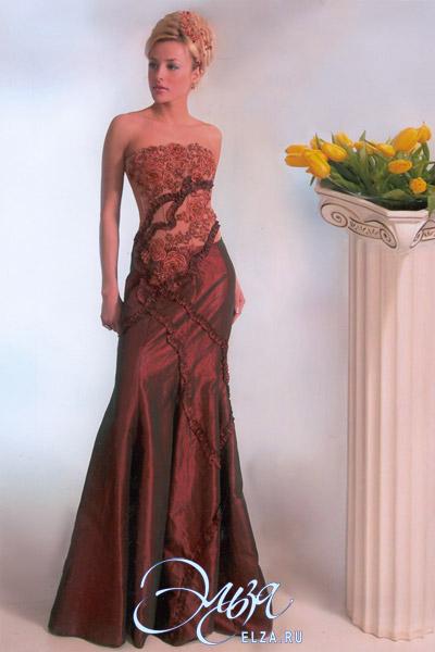Вечернее платье виола 29