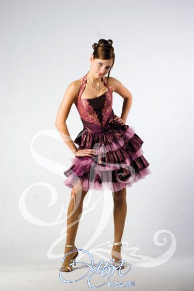 Вечернее платье лайма