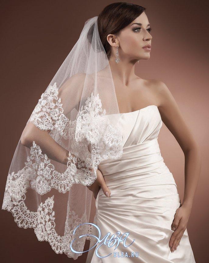 Купить фату на свадьбу недорого москва