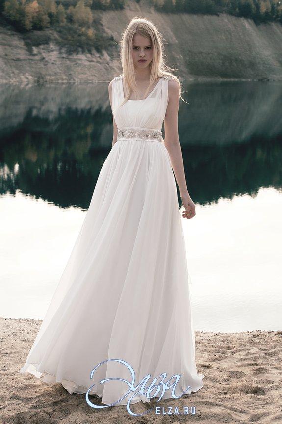 свадебное платье с кольцами