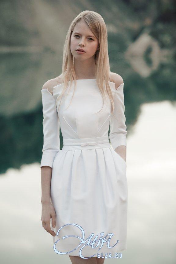 Короткие свадебные платья купить в москве