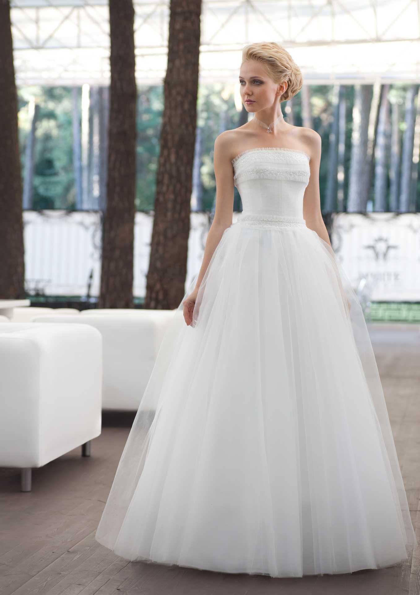 Свадебное платье пиано