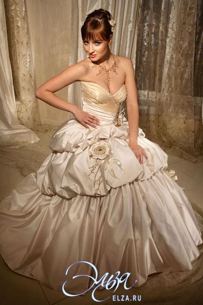 Свадебное платье бизе