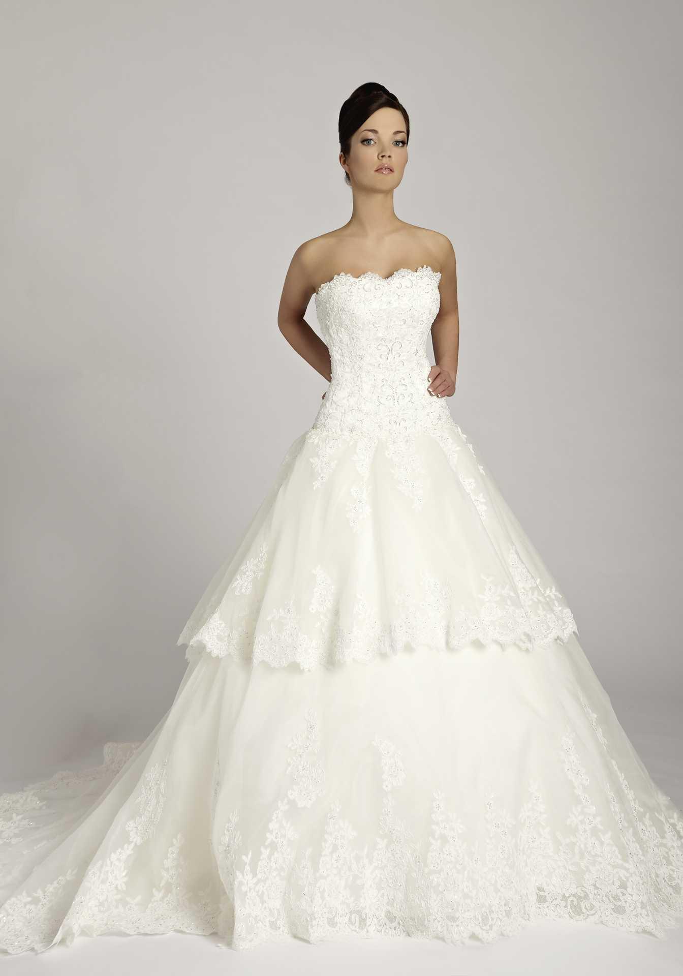 Свадебное платье органза