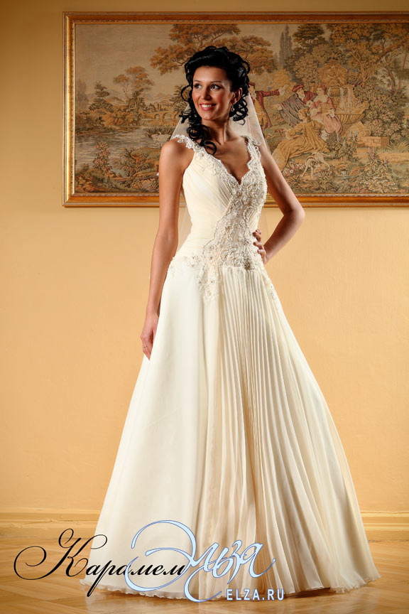 свадебное платье микадо фото