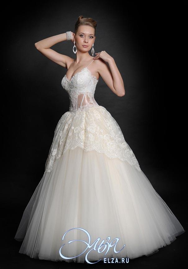 Свадебное платья кармен