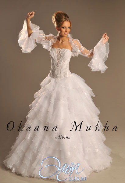 4f6d7a3882b7c3f Свадебное платье Альбина, Оксана Муха, свадебный салон Эльза