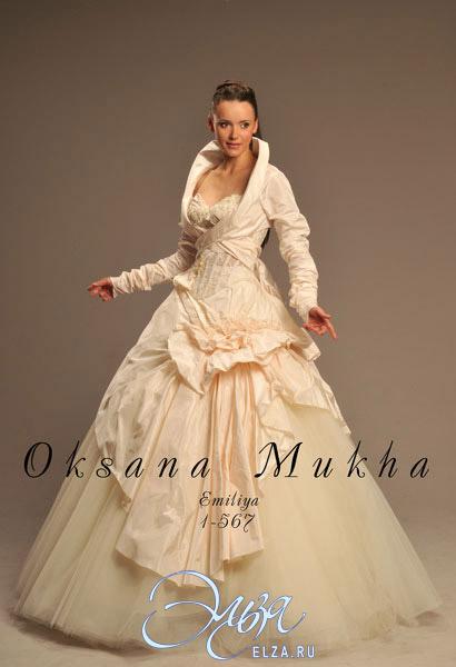 573807b729d305c Свадебное платье Эмилия (с болеро), Оксана Муха, свадебный салон Эльза