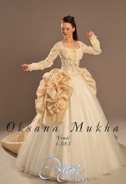 Оксана Муха - Свадебные платья - коллекция 2009.