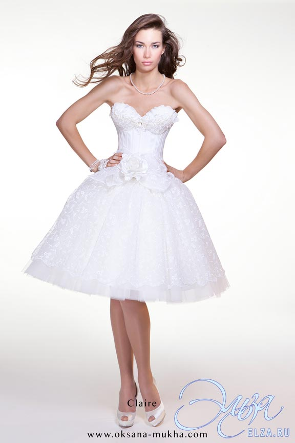 619be952b52 Короткие свадебные платья