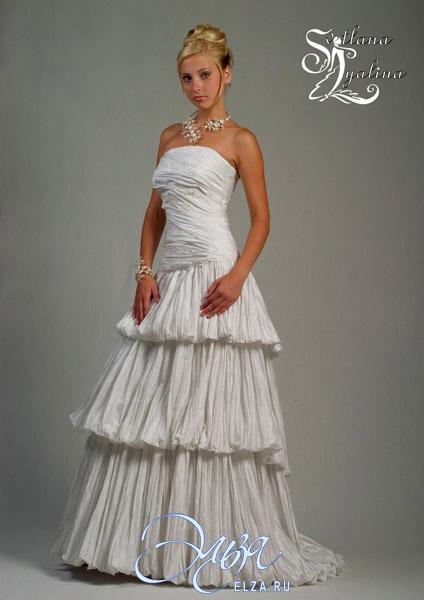 Венчальное платье купить дешево